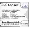 Li3824T44P4H716043 Telefon akkumulátor 2400 mAh