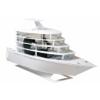 Lian Li PC-Y6W Odyssey Yacht Mini-ITX ház - fehér