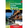 Lienzer Dolomiten-Lesachtal turistatérkép - f&b WK 182