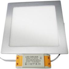 Life Light Led Led panel világítás driverrel, kocka alakú 24W, 3000 kelvin, 1840 lumen. Nem vibrál! Life Light Led 3 év garancia! izzó