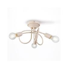 Light4home Csillár STYLE 3xE27/60W/230V bézs világítás