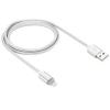 Lightning USB2.0 kábel LED-es állapotjelzéssel 1.0m, fehér