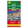 Liguria · Olasz Riviéra · Genova térkép / freytag & berndt