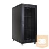 Linkbasic álló rack szekrény 19'' 27U 600x1000mm fekete