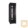 Linkbasic álló rack szekrény 19'' 42U 600x1000mm fekete