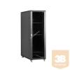 Linkbasic álló rack szekrény 19'' 47U 600x1000mm fekete