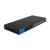 Linksys Gigabit Smart Switch 26-port (2 SFP) POE LGS326P menedzselhető (LGS326P-EU)