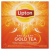 LIPTON Brilliant Gold Tea ízesített fekete tea 20 piramis filter