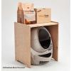 Litter robot diszkrét kabin macska toaletthez - nyír furnér