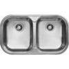 LIVINOX EX193K fényezett kétmedencés mosogató