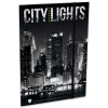 Lizzy Card Citylights: New York gumis mappa - A4