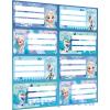 Lizzy Card Füzetcímke íves Frozen Mix