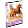 Lizzy Card Geo: lovas 3. osztályos vonalas füzet - A5, 12-32