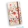 Lizzy Card Kft. Lizzy Card Secret Pocket Planner 2019 Country Flowers 18607499
