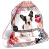 Lizzy Card Pet: kutyusos tornazsák - rózsaszín