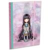 Lizzy Card Santoro-Gorjuss: Rosebud gumis mappa - A5