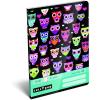 LizzyCard Füzet tűzött A/5 3.o. Lollipop Dark Owl 17462222