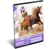 LizzyCard Füzet tűzött A/5 kockás GEO Horse Two 17177907
