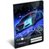 LizzyCard Füzet tűzött A/5 vonalas Super Racecar Blue Thunder 17512901
