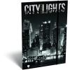 LizzyCard Gumis mappa A/4 Kis bagoly Citylights New York 18575405