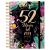 LizzyCard Heti beosztású tervező naptár B5 spirál + Lakatos Márk 256 oldal Black