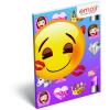 LizzyCard Notesz papírfedeles A/7 Emoji Girls 17519305