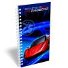 LizzyCard Notesz spirál közép Super Racecar Red Lightning 17520302