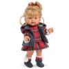 Llorens: európai baba kötött ruhában - 28 cm