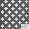 Locatelli Perforált lemez Grezzo natúr Hdf Gotico 1520x610x3mm