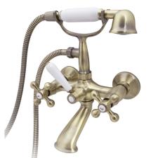 Logé LUXOR4 antik kád és zuhanytöltő csaptelep fürdőkellék
