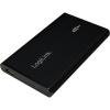 LogiLink 2.5' IDE USB2.0 külső ház fekete