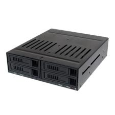 LogiLink 4-helyes belső, 2.5'-os merevlemez mobil rack asztali számítógép kellék