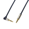 LogiLink Audio Cable 3.5 Stereo M/M 90° angled, 1.50 m, blue