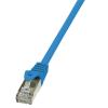 LogiLink CAT5E F/UTP PATCH CABLE AWG26 BLUE 1,00M
