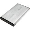 LogiLink Enclosure 2.5' USB 2.0 SATA alumínium ezüst HDD ház