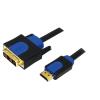 LogiLink HDMI-DVI kábel, HQ, 3 m