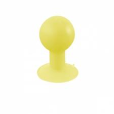 LogiLink iStand gumis állvány okostelefonhoz, MP3-lejátszóhoz, stb., sárga