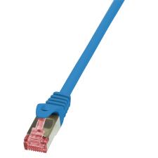 LogiLink patch kábel, Cat.6 S/FTP PIMF PrimeLine 3,00m kék kábel és adapter