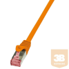 LogiLink patch kábel, Cat.6 S/FTP PIMF PrimeLine narancssárga 5m