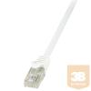 LogiLink patch kábel, Cat.6 U/UTP EconLine 1,00m fehér