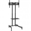 LogiLink TV stand cart, adjustable TV height, 37–70', max. 40 kg