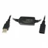 LogiLink USB 2.0 hosszabbító kábel fekete 20m