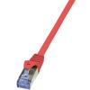 LogiLink UTP Összeköto Piros 10m CQ3094S