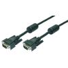 LogiLink VGA kábel  2x Ferrit HQ  1.8m