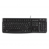 Logitech KEYBOARD K120 FOR BUSINESS OEM USB fekete SILENT DE (920-002516)