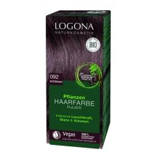 Logona növényi hajfesték por eszpresszó 092, 100 g hajfesték, színező