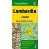 Lombardia térkép - TCI