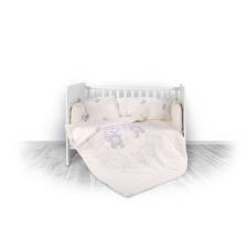 Lorelli 5 részes ágyneműgarnitúra - Happy Hippo beige babaágynemű, babapléd