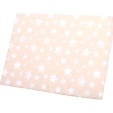 Lorelli Air comfort légáteresztő párna - Beige Stars (csillagos) babaágynemű, babapléd
