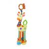 Lorelli Toys plüss játék rágókával - zsiráf